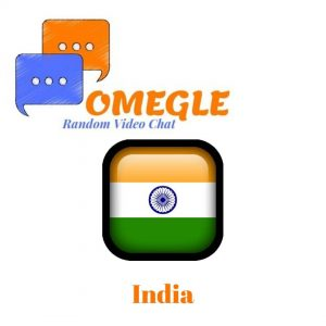 India Omegle random video chat