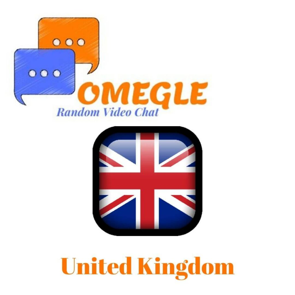 United Kingdom Omegle random video chat